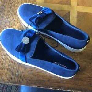 Liz Claiborne Suede Slip On Shoe